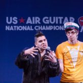 Competitive Air Guitar on Stage at Humana | HowlRound
